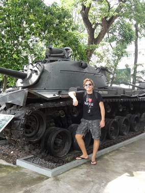 vietnam tank