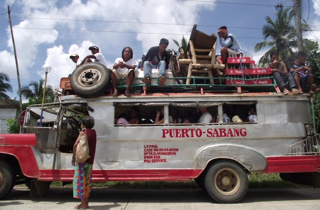 Filipino jeepney