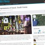 Travel Blog Relaunch
