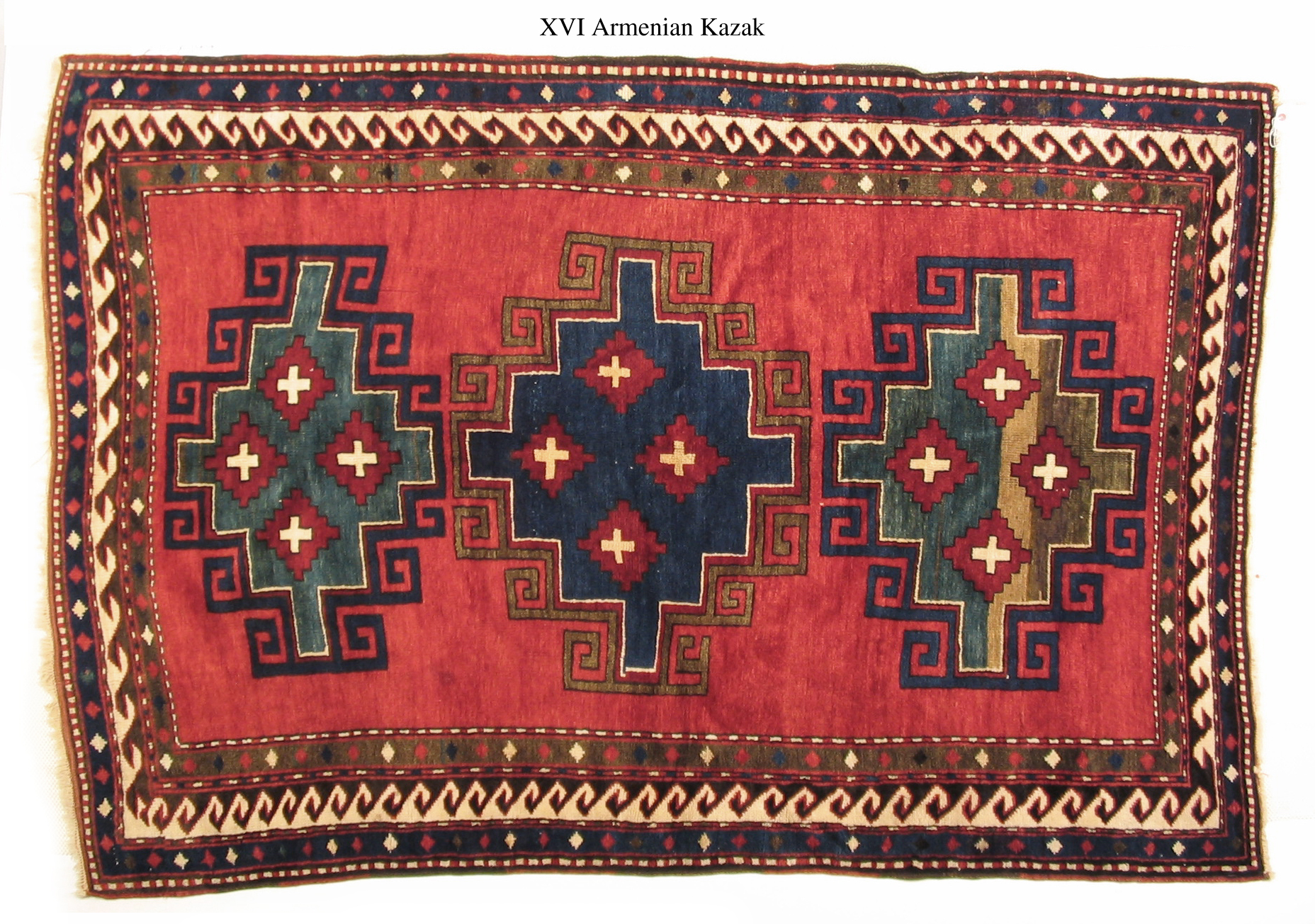 Armenian Carpet Kazak