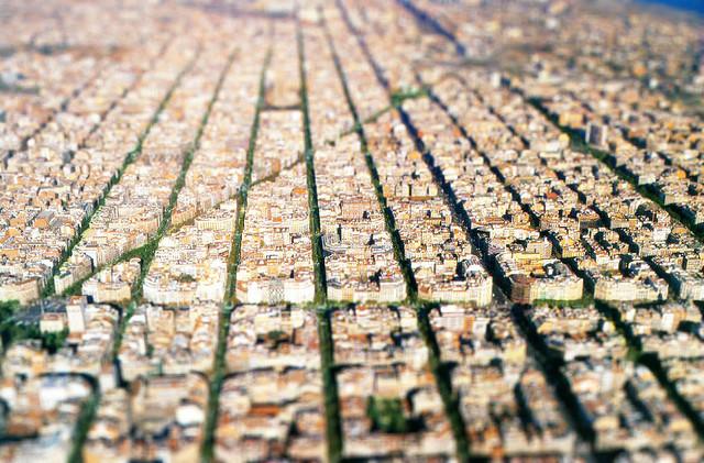 Tilt and Shift, Barcelona