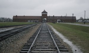 Auschwitz Watchtower, &quot;The Gate of Death&quot;