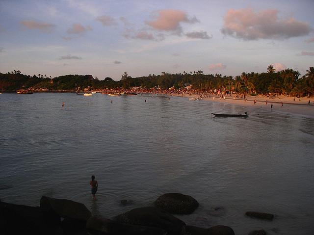 full moon party beach
