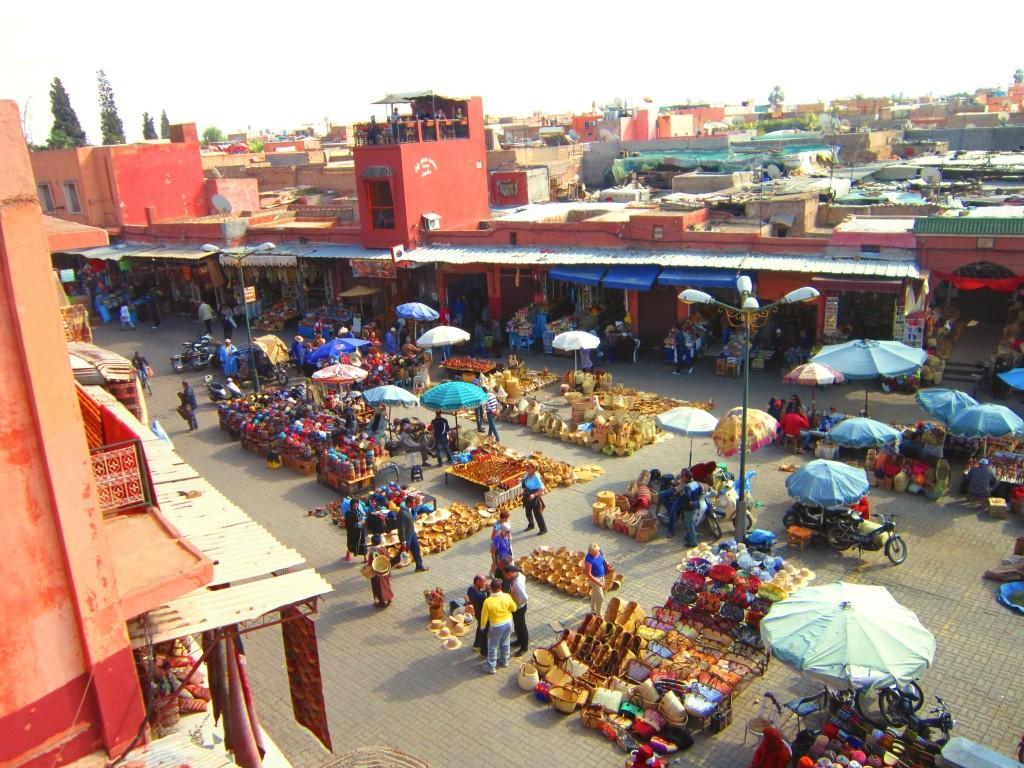 Marrakech Morocco souks