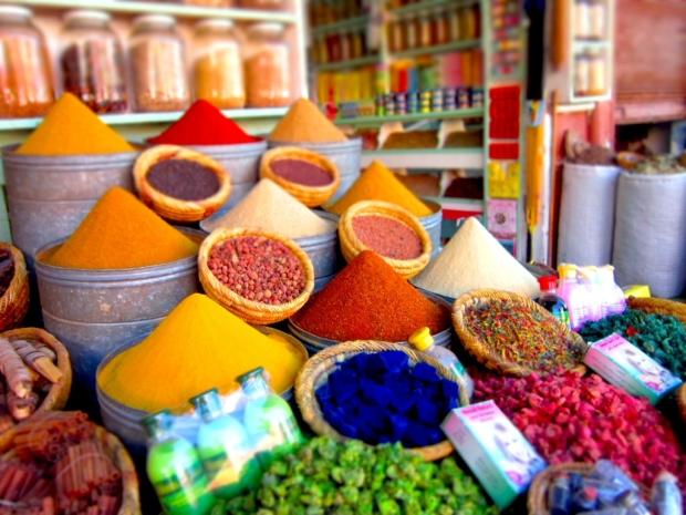 Colourful spicies