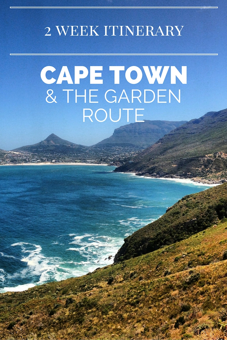 2 Week Itinerary For Cape Town Amp Garden Route South Africa
