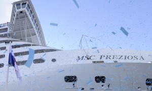 MSC Preziosa Flag Ceremony