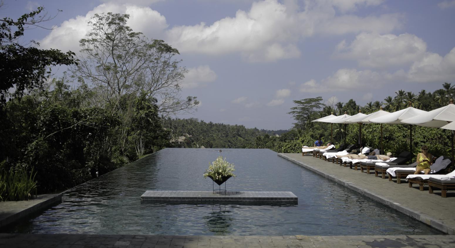 Poolside Alila Ubud