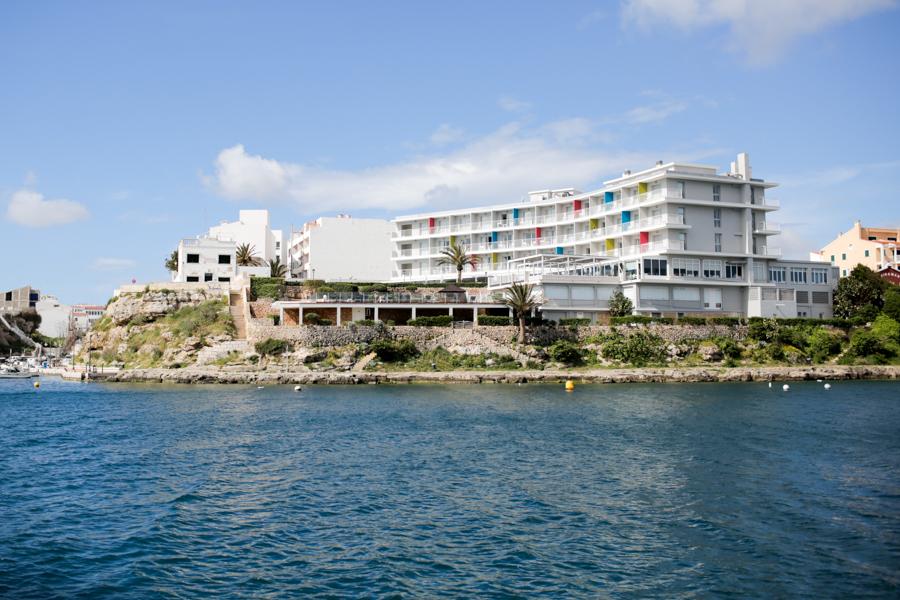 Fresh Hotel from the sea, Menorca
