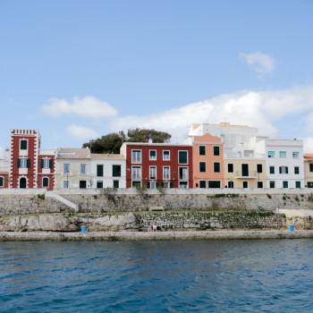 Coastline Mahon Port, Menorca