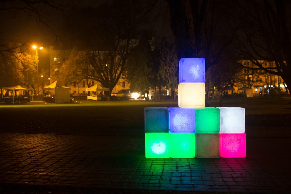 Cubes - Staro Riga, Latvia