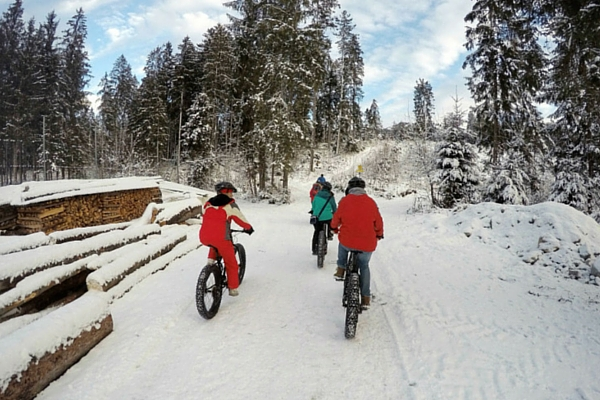 fatbiking ride