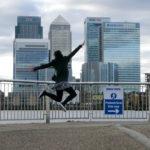 Canary Wharf jump