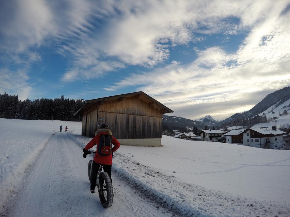 Fat biking in Austria