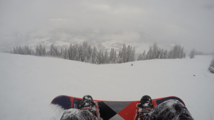 Improving My Snowboarding In Tirol, Austria