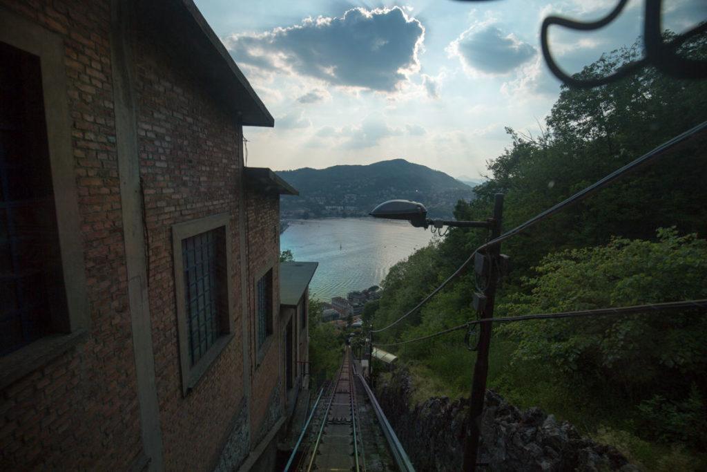 Funicular View of Como