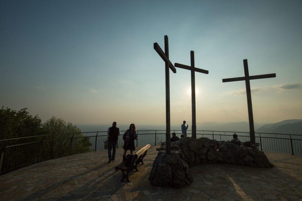 Cross at Faro Voltiano