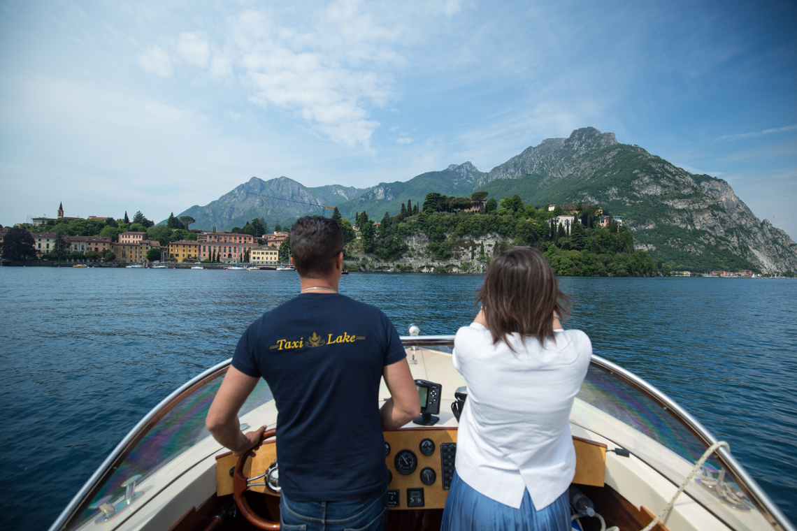 Boat trip from Lake Como from Lecco