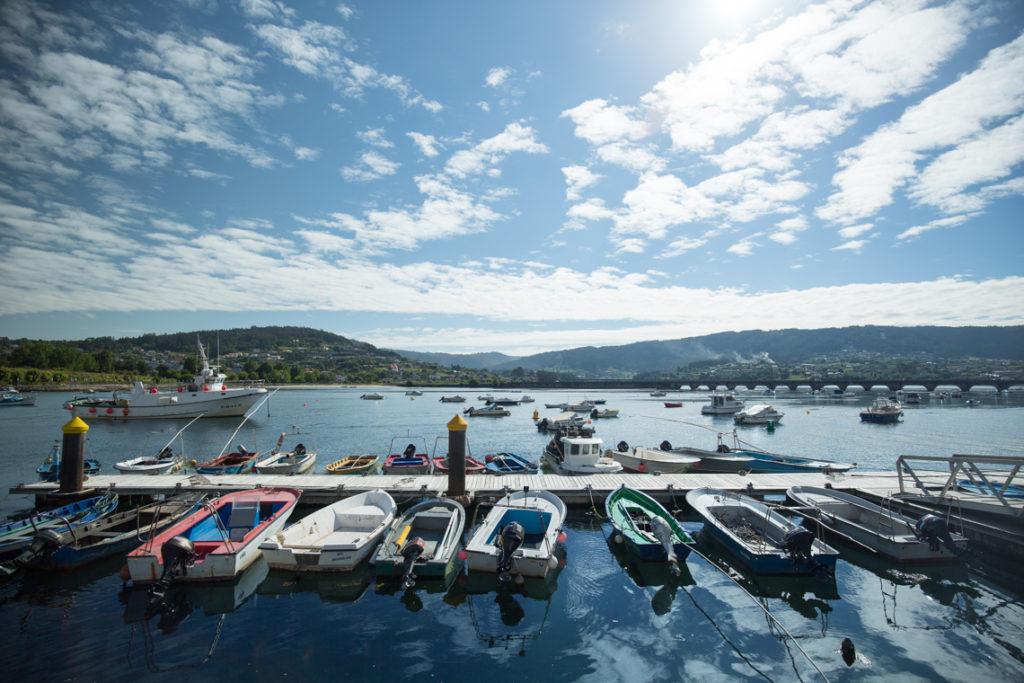 Fishing boats Pontedeume