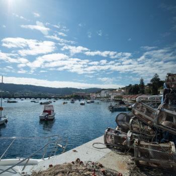 Pontedeume Fishing Port