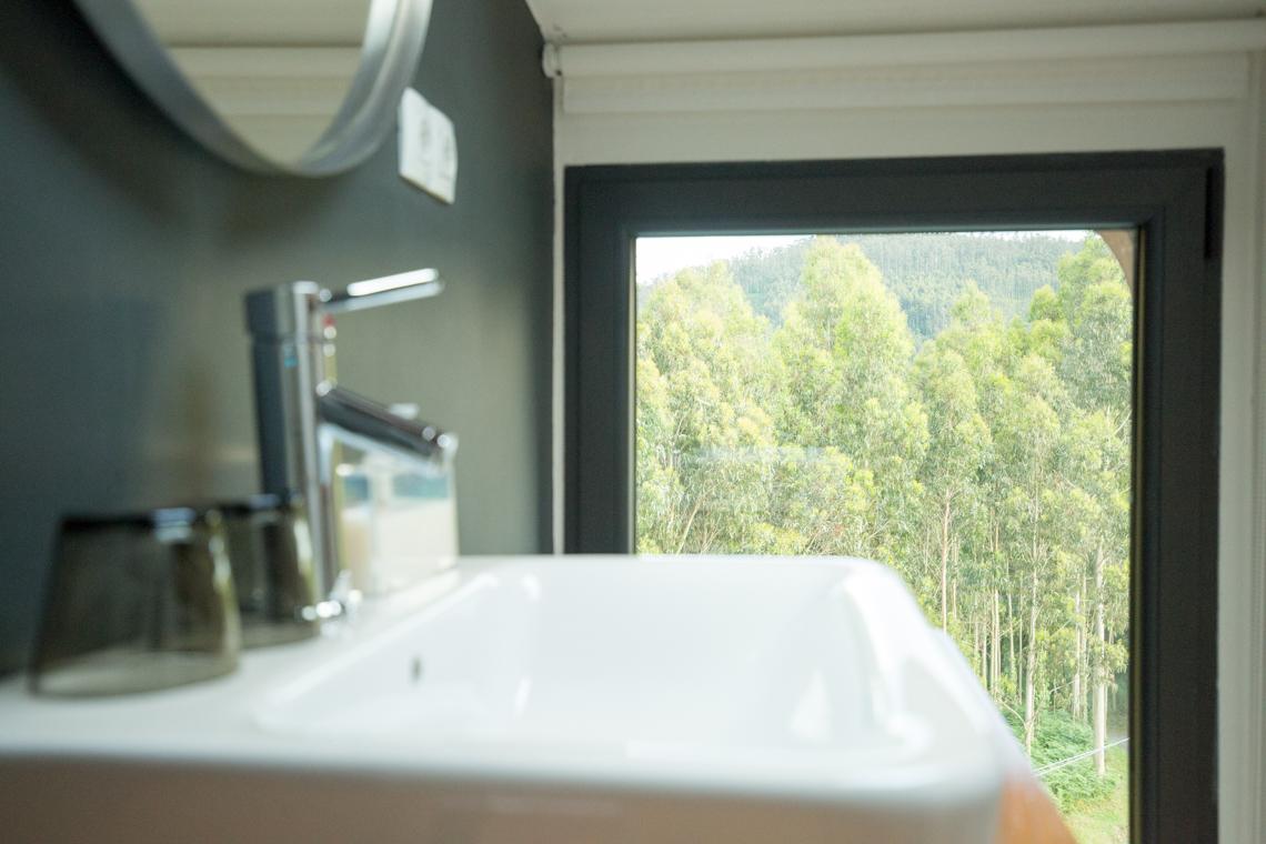 Bathroom view El castaño dormilón