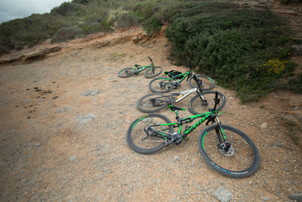 mountain bikes menorca