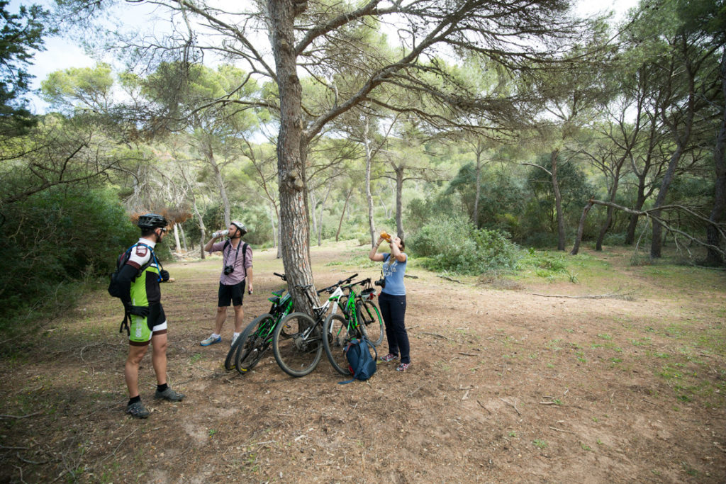 mountain biking menorca