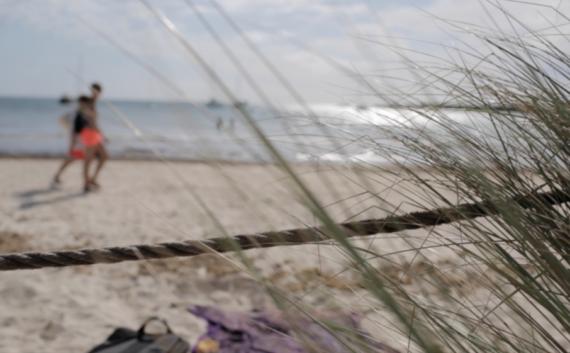 menorca beach rope