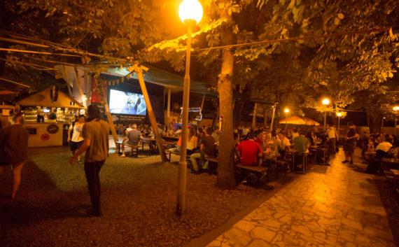 ahrádky a restaurace Riegrovy sady – Park Café